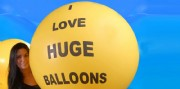 JUMBO PRINTED BALLOONS