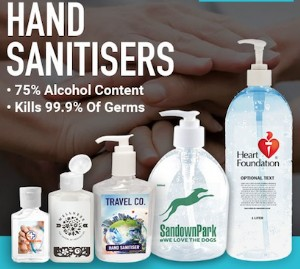 Register Your Interest for HAND SANITISERS and be the first to receive your order.