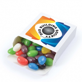 Assorted Colour Jelly Beans in 50 gram Box - LL31474 Image