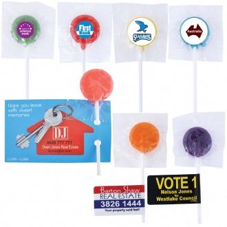 Assorted Colour Lollipops - LL555 Image