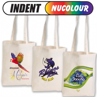 Calico Double Long Handle Conference Bag - 140 GSM - LN512 Image