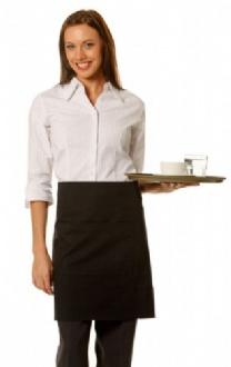 [AP01] Short waist apron w86xh50cm - AP01 Image