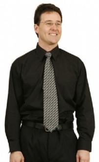 [BS01L] Man's poplin shirt,long sleeve - BS01L Image