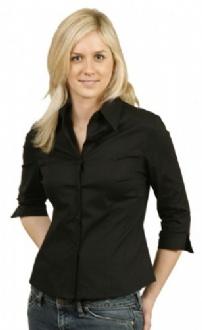 [BS02] Ladies' stretch poplin 3/4 sleeve - BS02 Image