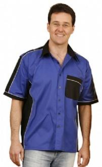 [BS12] Mens tri-color shirt - BS12 Image