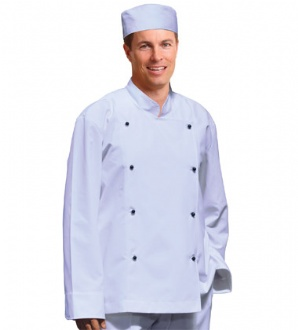 [CJ01] Chef's Jacket Long Sleeve - CJ01 Image
