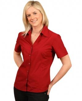 [BS07S] Ladies S/S Teflon shirt - BS07S Image