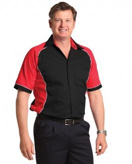 [BS15] Men's Contrast Shirt - BS15 Image