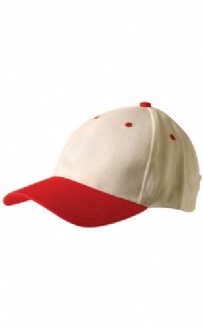 [CH02] Two tone heavy brushed cotton structured cap - CH02 Image