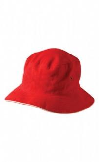 [CH31] soft washed sandwich bucket hat - CH31 Image