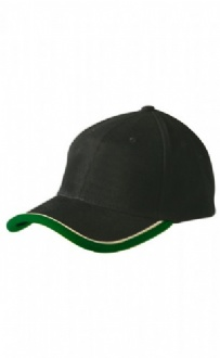 [CH34] Heavy brushed cotton trim & piping cap - CH34 Image