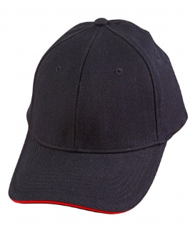 [CH37] Heavy unbrushed cotton fitted cap sandwich - CH37 Image