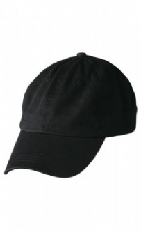 [CH39] Washed polo cotton unstructured cap - CH39 Image