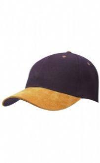 [CH08] Wool blend suede peak cap - CH08 Image