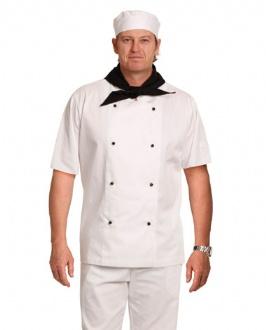 [CJ02] Chef's Jacket Short Sleeve - CJ02 Image