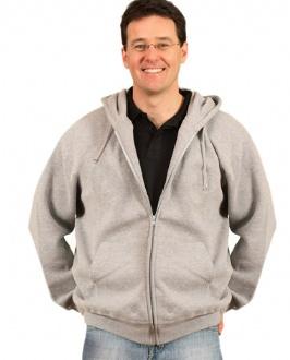 [FL03] Men's full-zip fleecy hoodie - FL03 Image