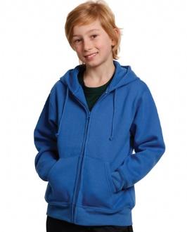 [FL03K] Kid's full-zip fleecy hoodie - FL03K Image