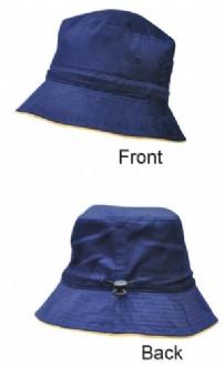 [H1033] Bucket hat sandwitch+toggle - H1033 Image