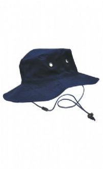 [H1035] Surf hat with clip on chin strap - H1035 Image