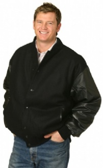 [JK05] Bomber Jacket leather sleeve - JK05 Image