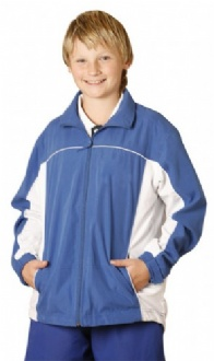 [JK08Y] Kids' microfibre sport tracksuite top - JK08Y Image