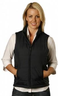 [JK30] Ladies' Nylon Rip-stop Padded Vest - JK30 Image
