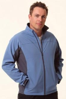 [JK31] Men?�?s Contrast Softshell Jacket - JK31 Image