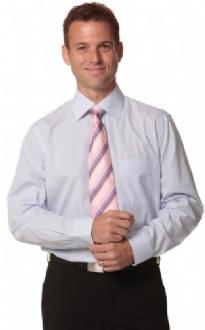 [M7360L] Men's Mini Check L/S Shirt - M7360L Image