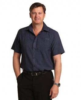 [M7600S] Men's Cooldry Short Sleeve Shirt - M7600S Image