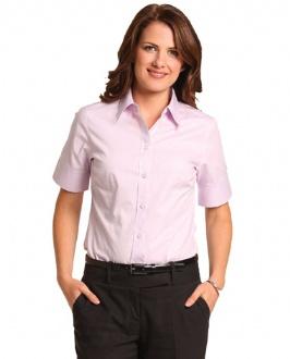 [M8040S] Women's CVC Oxford S/S Shirt - M8040S Image