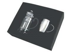 Brasil Plunger & Calabria Single Mug Set - R2627 Image
