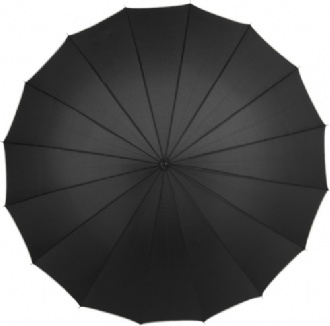 Pongee (190T) manual umbrella            - 4118 Image