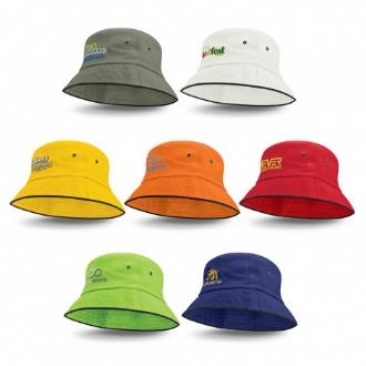 Bondi Bucket Hat - Black Sandwich Trim - 115493 Image