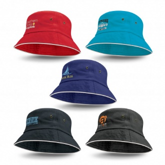 Bondi Bucket Hat - White Sandwich Trim - 115740 Image