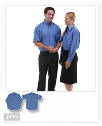 JB's Indigo Shirt - Short Sleeve - 4ICS Image