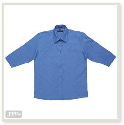 JENI B Indigo Shirt - 3/4 Sleeve - 4LICT Image