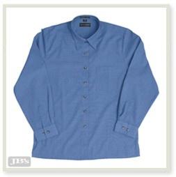 JENI B Indigo Shirt - Long Sleeve - 4LICX Image