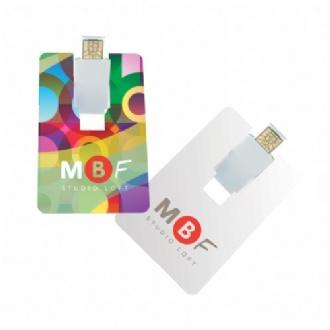 Flip Card USB 2.0 Flash Drive - 8GB - G31584 Image