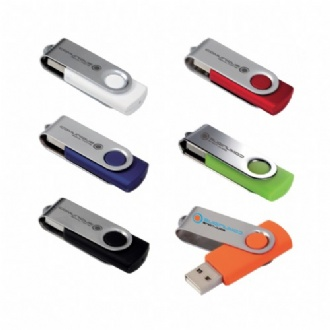 Folding USB 2.0 Flash Drive - 4GB - G30729 Image