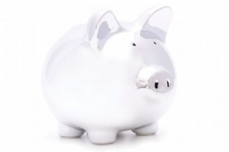 Mirror Finish Ceramic Piggy Bank - MOBN08 Image
