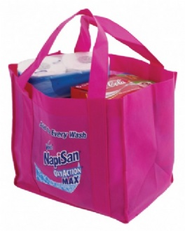 Non Woven Shopping Tote Bag with base - NWTB05 04 Image