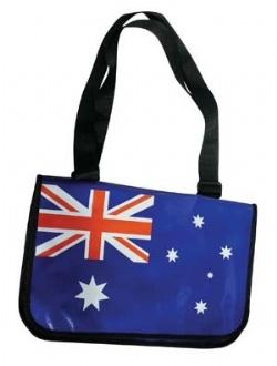 SATB09 - Aussie Satchel Bag - SATB09-AUSSIE Image